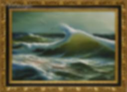 Две чайки | Сергей Лим | художник-маринист | купить морской пейзаж | купить картину маслом | купить картину с морем | Артмагия | Artmagic | artvin