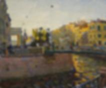 городские стражи | питер | питерский пейзаж | Дмитрий Сысоев | Dmitry Sysoev | Landscape | пейзаж | art.vin | Artmagic | Артмагия