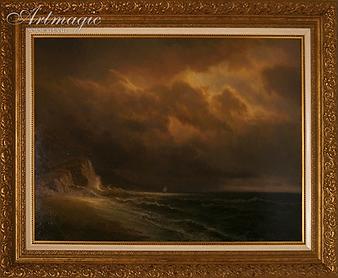 Морской пейзаж | Иван Тюряев | картина маслом | купить картину | seascape | Artmagic | art.vin