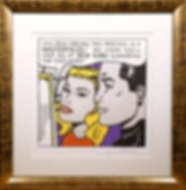 Шедевр | Masterpiece | Рой Лихтенштейн | Roy Lichtenstein | Cuite | Милашки | art.vin | Artmagic | Артмагия