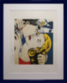 Поцелуй с капитаном | kiss with the capitan | Рой Лихтенштейн | Roy Lichtenstein | Cuite | Милашки | art.vin | Artmagic | Артмагия