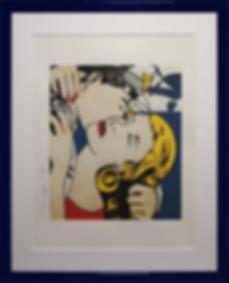 Поцелуй с капитаном | kiss with the capitan | Рой Лихтенштейн | Roy Lichtenstein | Cuite | Милашки | art.vin | Artmagic | Артмагия