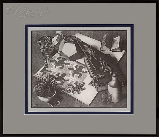 Рептилии | Мауриц Эшер | M.C. Esher | art.vin | Artmagic | Артмагия