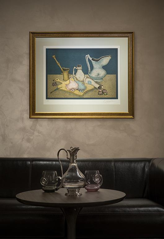 Натюрморт с палтусом   Михаил Шемякин   в интерьере