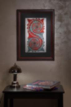Завихрения | Esher | Эшер | Артмагия | пейзаж | купить картину в москве | купить картину | art | art gallery | artvin | Artmagic | exclusive | эксклюзив
