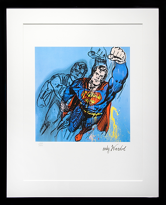 Супермэн | Superman  | Энди Уорхол | Andy Warhol | art.vin | Artmagic | Артмагия