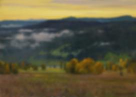 утро река сим   Гора   Алексей Петриков   Alex Petrikov   Landscape   пейзаж   природа   art.vin   Artmagic   Артмагия
