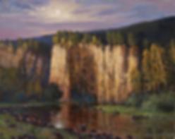 сумерки на реке ай | река | Алексей Петриков | Alex Petrikov | Landscape | пейзаж | природа | art.vin | Artmagic | Артмагия