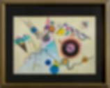 Композиция | Василий Кандинский | Артмагия | пейзаж | купить картину в москве | купить картину | art | art gallery | artvin | Artmagic