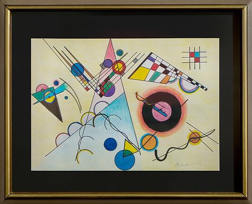 Композиция | composition |  Василий Кандинский | Vasily Kandinsky | Artmagic | Артмагия |  art.vin