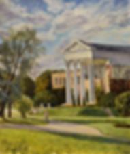 осенняя прогулка в ботаническом саду  | купить пейзаж | Федор Парфенов | купить картину в Москве | купить пейзаж | галерея Москвы | Артмагия | Artmagic | artvin