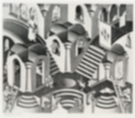 Выпуклое и гонутое   Мауриц Эшер   M.C. Esher   art.vin   Artmagic   Артмагия