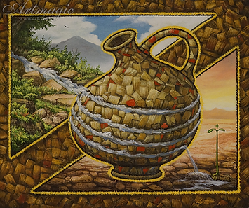 Сосуд жизни  | Сизоненко | интересная картина | купить картину маслом | Купить морской пейзаж | Артмагия | Artmagic | art.vin