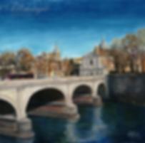 Рим | Вечный город | Rom | Ирина Бабанова  |  Irina Babanova | картина маслом купить  | купить картину в Москве | Артмагия | Artmagic | artvin