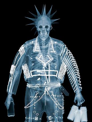 Панк | Punk | Ник Визи | Nick Veasey| рентген | art.vin | Artmagic | Артмагия