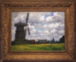 Суздаль. Старая мельница | Владимир Чёрный | Городской пейзаж | art.vin | Artmagic | Артмагия