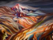 ИСЛАНДИЯ ОГОНЬ ЛЕД | Василий Сидорин | fire and ice | sidorin | купить картину в москве | волнизм