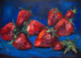 Свежий урожай | клубничка | Ирина Сергеева | Irina Sergeeva | Still life | Натюрморт | art.vin | Artmagic | Артмагия