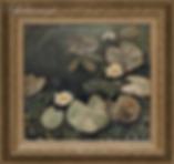 Белые кувшинки  | купить пейзаж | Федор Парфенов | купить картину в Москве | купить пейзаж | галерея Москвы | Артмагия | Artmagic | artvin