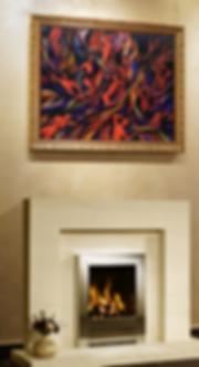 ВТОРОЙ КРУГ АДА | second circle of hell | картина в интерьере  | Василий Сидорин | VASILY SIDORIN | sidorin.info | Artmagic
