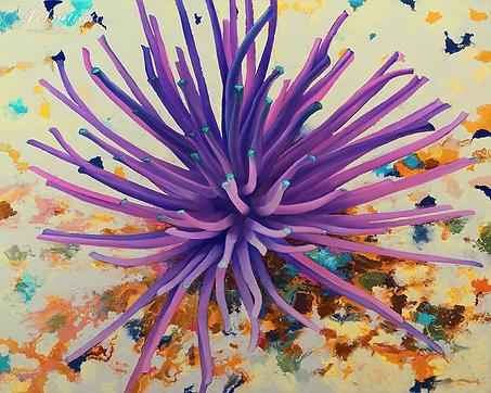 Морское дно | корал  | Михаил Балавадзе | Mihail Balavadze | грузинский худодник | купить картину в Москве | Артмагия | Artmagic | art.vin