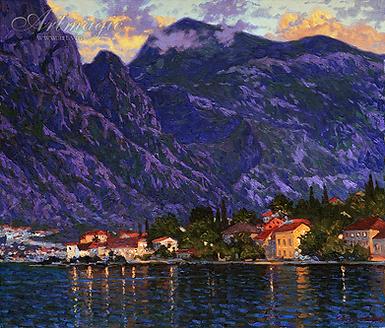 Сысоев | Сумерки  | пейзаж | Дмитрий Сысоев | Dmitry Sysoev | Landscape | пейзаж | art.vin | Artmagic | Артмагия