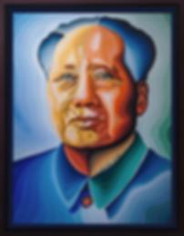 Мао | Mao | Василий Сидорин | Vasily Sidorin | Portrait | портрет | art.vin | Artmagic | Артмагия