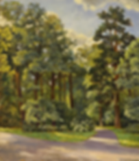 Зелёная тишина | зеленая тишина  | купить пейзаж | Федор Парфенов | купить картину в Москве | купить пейзаж | галерея Москвы | Артмагия | Artmagic | artvin