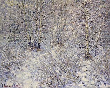 зимний сон | зимний пейзаж | Дмитрий Сысоев | Dmitry Sysoev | Landscape | пейзаж | art.vin | Artmagic | Артмагия