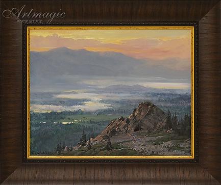 Утро над Инзером | Summer | Алексей Петриков | Alex Petrikov | Landscape | пейзаж | природа | art.vin | Artmagic | Артмагия