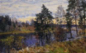 задумалась осень | осенний пейзаж | Дмитрий Сысоев | Dmitry Sysoev | Landscape | пейзаж | art.vin | Artmagic | Артмагия