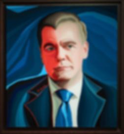 Премьер | Медведев | Medvedev | Василий Сидорин | Vasily Sidorin | Portrait | портрет | art.vin | Artmagic | Артмагия