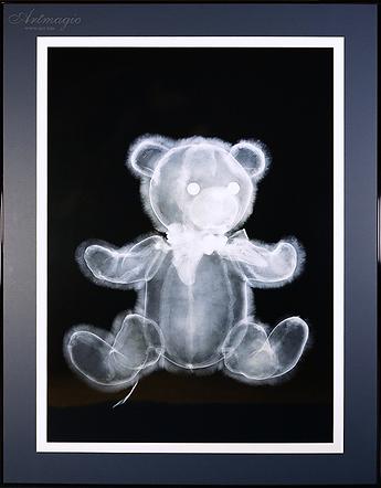 мишка ВЗ.pngМишка | Fluffy teddy bear | Ник Визи | Nick Veasey| рентген | art.vin | Artmagic | Артмагия