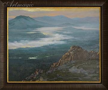 Пробуждение | Алексей Петриков | Alex Petrikov | Landscape | пейзаж | природа | art.vin | Artmagic | Артмагия