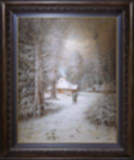 Зима | Клевер | Валерий Кошалев | Landscape | пейзаж | art.vin | Artmagic | Артмагия