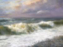 Шум прибоя  | Сергей Дорофеев | морской пейзаж | купить картину маслом | Купить морской пейзаж | Артмагия | Artmagic | art.vin