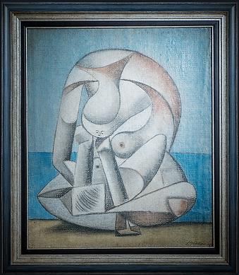 Женщина | Woman | Пабло Пикассо | Pablo Picasso  | Cuite | Милашки | art.vin | Artmagic | Артмагия