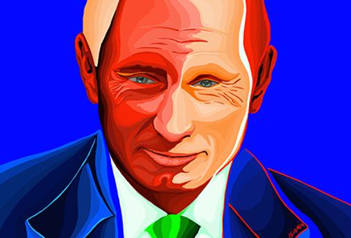 ПУТИН В.В. | PUTIN V.V.