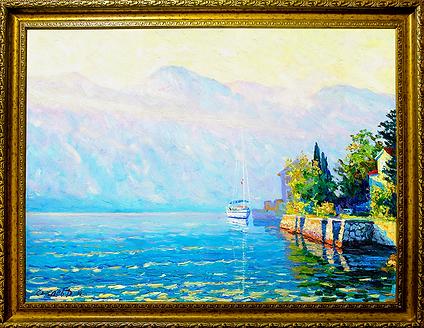 Нежное утро | gentle morning | Дмитрий Сысоев | Dmitry Sysoev | Landscape | пейзаж | art.vin | Artmagic | Артмагия