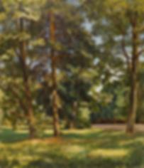 игра теней  | купить пейзаж | Федор Парфенов | купить картину в Москве | купить пейзаж | галерея Москвы | Артмагия | Artmagic | artvin