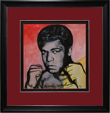 Мухаммед Али | Muhammad Ali | Энди Уорхол | Andy Warhol | art.vin | Artmagic | Артмагия