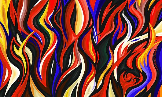 Абстракция № 4 | Василий Сидорин | Абстракция | art.vin | Artmagic | Артмагия