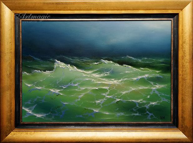 море | Сергей Лим | художник-маринист | купить морской пейзаж | купить картину маслом | купить картину с морем | Артмагия | Artmagic | artvin