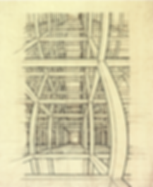 Дом лестниц   Этюд   Мауриц Эшер   M.C. Esher   art.vin   Artmagic   Артмагия
