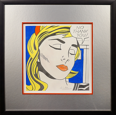 нет спасибо| No thank you| Рой Лихтенштейн | Roy Lichtenstein | Cuite | Милашки | art.vin | Artmagic | Артмагия