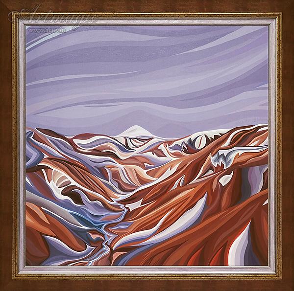 Василий Сидорин | горы Исландии летом | Artmagic | Артмагия | art.vin