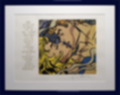 Поцелуй | Kiss | Рой Лихтенштейн | Roy Lichtenstein | Cuite | Милашки | art.vin | Artmagic | Артмагия