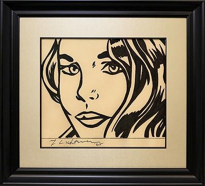 Девушка | Girl | Рой Лихтенштейн | Roy Lichtenstein | Cuite | Милашки | art.vin | Artmagic | Артмагия