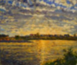 плывущие под водой | отрожение в воде | Дмитрий Сысоев | Dmitry Sysoev | Landscape | пейзаж | art.vin | Artmagic | Артмагия