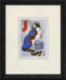 Кот с черепом | Kazuaki Kitamura Horitomo | Cat | Котики | art.vin | Artmagic | Артмагия